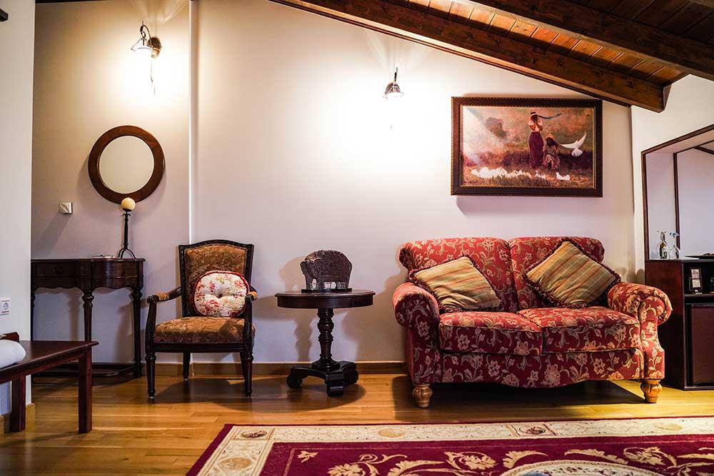 Τετράκλινο δωμάτιο σοφίτας
